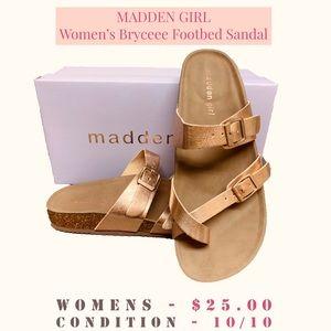 SALE!!! MADDEN GIRL - Bryceee Footbed Sandal